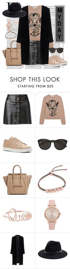 """#myday"" by milenchik ❤ liked on Polyvore featuring Chanel, Valentino, Yves Saint Laurent, Monica Vinader, Vivani, Jadicted and Sole Society"