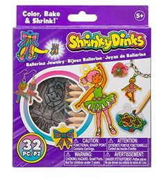 Alex Shrinky Dinks Minis - Ballerina Jewelry ** You can get more details at