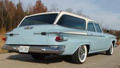 1961 Plymouth Custom Suburban station wagon