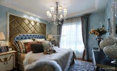 Luxurious European-style bedroom soft design 2015