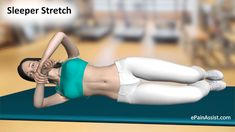 How to do Sleeper Stretch - Step 3 Shoulder Stretches, Wrist Pain, Olympics, Take That, Exercise, Fitness, People, Excercise, Ejercicio