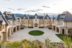 This limestone castle just outside of Denver, Colorado, is still under construction but has hit the market for a cool $17.5 million