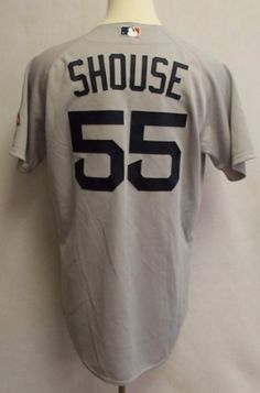 2010 Boston Red Sox Brian Shouse  55Game Used Gray Road JerseyGreat Game  Used Jersey- Size 46 -Ideal for ... 5357be431