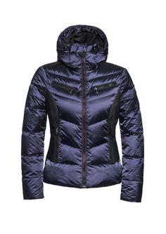 #KUMIKO GB03-10-173 gb0310173 #505 #Marine #blueskijack #skiwear #luxurysportswear #Goldbergh #GB #ski #snowwear #skifashion