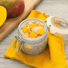 Mango Coconut Chia Pudding - EatingWell.com