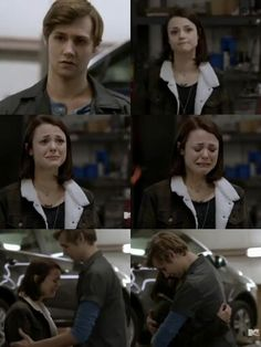 Finding carter: Pretty when you cry. Carter and crash