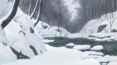 The Wolf Children Ame and Yuki. Directed by Mamoru...   AnimeBackgrounds