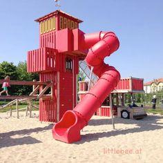 sommer-am-spielplatz-feuerwehr-littlebee-die kleine botin-9 Park, Playground, Fire Department, Summer, Parks