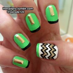 thenailpro:  Colors used: Color club-French tip Color...