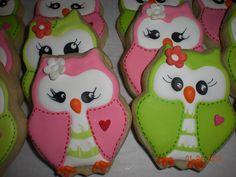 Owl Cookies by Sugar by Julie