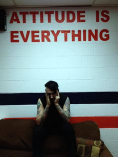 Attitude is everything Marilyn Manson