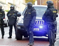 Thug rammed full of ERU gardai thinking they were rival gang Special Forces Army, Defence Force, Army Soldier, Military Police, Emergency Vehicles, Thin Blue Lines, Law Enforcement, Movie Tv, Counter