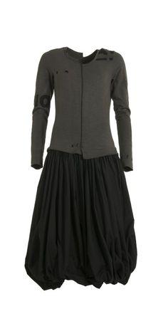 Rundholz Beluga Bubble Hem Dress from idaretobe Authorised UK Stockist