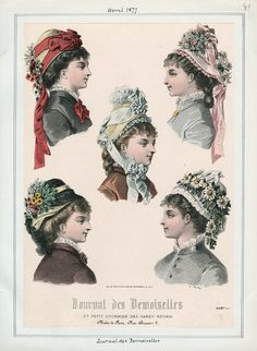 Journal des Demoiselles April 1877 LAPL