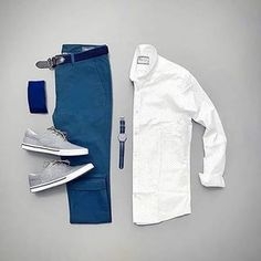 Men Casual Shirt Outfit 🖤 Very Attractive Casual Outfit Grid, Casual Wear For Men, Stylish Mens Outfits, Casual Outfits, Mens Style Guide, Men Style Tips, Mode Man, Men With Street Style, Mens Attire, Business Casual Men