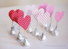 Валентинки-конфеты