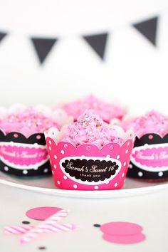 DIY Cupcake Wrappers - Free Printable Download