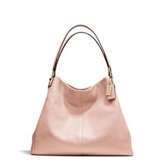 The Madison Phoebe Shoulder Bag In Leather from Coach - 25% off till Jan 26th