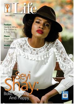 Lightup Concepts: She's Bold, Growing & Happy! Seyi Shay Covers Guar...