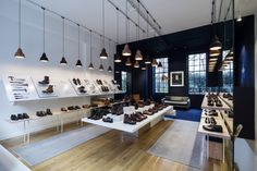 Joseph Cheaney store by Checkland Kindleysides London  UK