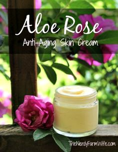 I recently shared Jan's recipe for an Aloe Rose Skin Sootherthat'sperfect for sunburns, rashes, and other skin problems. In this recipe, Jan uses the skin soother to make an Aloe Rose Anti-Aging Cream. The recipe uses ingredients that moisturize, fight wrinkles, rejuvenate, and keep the skin s…