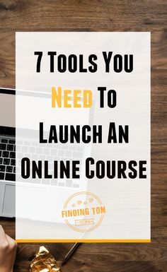 7 Tools You Need For A Online Course Launch - Online Courses - Ideas of Online Courses - Ready to launch an online course? Dont know where to get started? Heres the ONLY 7 tools you need to get started! Marketing Digital, Content Marketing, Online Marketing, Business Marketing, Design Facebook, Importance Of Time Management, Going To University, Online College, Online Work
