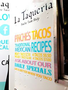 La Taqueria: Life is better when you taco - Vancouver Foodie Tours Vancouver Food, Best Food Trucks, Taco Shop, Say More, Life Is Good, Tropical, Tours, Good Things