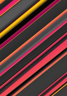 Orange Walls, Pink Walls, Orange Yellow, Dark Backgrounds, Wallpaper Backgrounds, Iphone Wallpaper, Wallpapers, Striped Wallpaper, Material Design