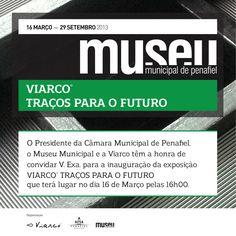 No próximo sábado inauguramos a nossa exposição Viarco - Traços para o Futuro.