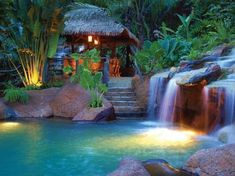 The Springs Resort and Spa at Arenal, Costa Rica.