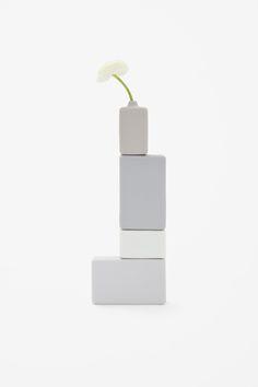 NENDO block vase