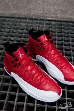 be2241fd9e5420 The Air Jordan 12 Retro Gym Red is one of the hottest retro colorways weve  seen in a while. Still available in Grade School sizes.