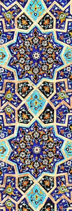 Moroccan but grew up in Italy. Tile Art, Mosaic Art, Mosaic Tiles, Islamic Art Pattern, Arabic Pattern, Tile Patterns, Pattern Art, Motif Oriental, Islamic Tiles