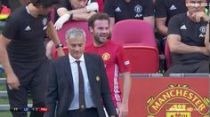 Popular Right Now - Thailand : Juan Mata reaction to Jose Mourinho substituting him in Community Shield... http://ift.tt/2cJAxJG