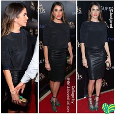@malonesouliers 'Montana' green elaphe, navy nappa lace-up pumps on @brittalovesfashion's Instagram. At a charity event Nikki Reed looked gorg in top and skirt from Philanthropy,Malone Souliers heels and @CortoMoltedo clutch! I especially love the fabulous strappy heels and clutch! ‪#MaloneSouliers‬ ‪#NikkiReed‬ ‪#Philanthropy‬ ‪#CortoMoltedo‬‪ #BrittaLovesFashion‬ ‪#Charity‬ ‪#Montana‬ ‪#luxury‬ ‪#womens‬ ‪#shoes‬ ‪#fashion‬
