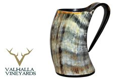 Amazon.com | Viking Cup Drinking Horn Tankard - Authentic Medieval Inspired Mug: Beer Mugs & Steins