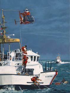 U.S. Coast Guard - Artwork