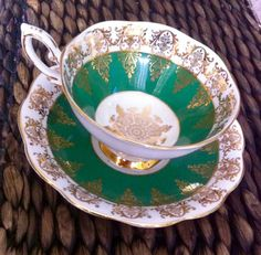 Antique Royal Standard tea cup and saucer English by Pickedtwice