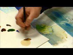 Comment faire un glacis sur peinture à l'huile? - YouTube