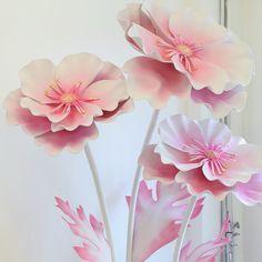 Artmix_decor Большие нежно- розовые анемоны
