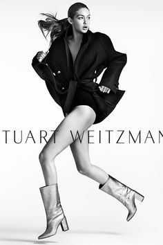 Gigi Hadid in Mario Testino Photoshoot for Stuart Weitzman – Fall/Winter High Fashion Poses, Fashion Model Poses, Fashion Shoot, Look Fashion, Editorial Fashion, Fashion Models, Fashion Editorial Photography, Top Model Poses, Fall Fashion