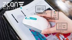 Zcan Wireless Scanner Mouse in Action (PRNewsFoto/Design to Innovation)