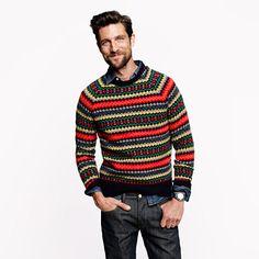 J.Crew - Tingwall Fair Isle sweater