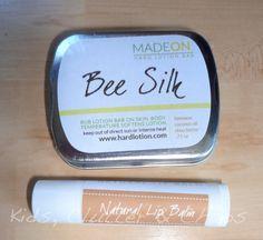 MadeOn Hard Lotion Bar & Lip Balm Review