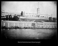İstanbul-Yıldız Albümleri, Deniz Hastahanesi (Kasımpaşa)