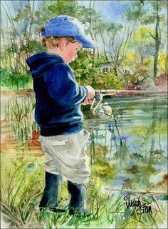 Fisher Boy by Judith Stein