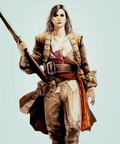 Assassin's Creed IV: Black Flag Mary Bonney