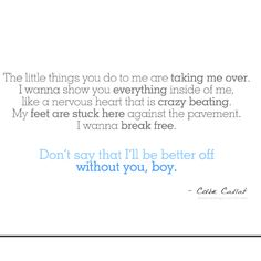 The Little Things-Colbie Calliet
