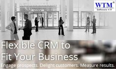 WTM is most reputed CRM Software Development Company. We are use the most efficient, effective approach to CRM software development. visit here: http://wtmit.com/crm