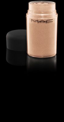 "This is a pigment called ""Naked"". This is perfect to use when you are trying to achieve the nude/natural look. Also, try using a black liquid liner if you want a more dramatic, polished look. I love to use this if I am wearing a bold lip color, such as red."